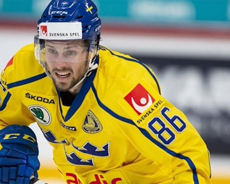 Swedish forward Mattias Brome hopes to make the Red Wings.